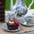 friss · kert · eper · csésze · fa · asztal · étel - stock fotó © konradbak