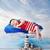 幸せ · 船乗り · 肖像 · ハンサム · シャツを着ていない · 後ろ - ストックフォト © konradbak