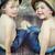 iki · küçük · erkek · oturma · aile · yüz - stok fotoğraf © konradbak