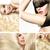 multiple portrait of a fashionable lady stock photo © konradbak