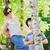 weinig · jongen · reis · koffer · zonnebril · vakantie - stockfoto © konradbak