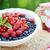 myrtille · fruits · confiture · table · de · cuisine · fruits · cuisine - photo stock © konradbak