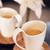 twee · koffie · decoratie · melk · cafe - stockfoto © konradbak