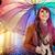 szivárvány · esernyő · összes · színek · modern · absztrakt - stock fotó © konradbak
