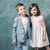 adorable kids posing and hugging stock photo © konradbak
