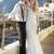 jonge · huwelijk · paar · huwelijksreis · hemel - stockfoto © konradbak