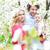 父 · 母親 · 娘 · 赤ちゃん · 夏 · 草原 - ストックフォト © konradbak