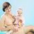 liebenswert · mom · lächelnd · Tochter · Mutter · Baby - stock foto © konradbak