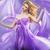 stunning blonde like purple princess stock photo © konradbak