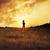 erkek · top · çayır · gökyüzü · çim · futbol - stok fotoğraf © konradbak