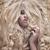 mooie · vrouw · fabelachtig · weelderig · kapsel · pluizig · vrouw - stockfoto © konradbak