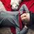 küçük · tavşan · resim · ayakta · beyaz · saç - stok fotoğraf © konradbak