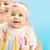 liebenswert · Frau · cute · kid · Kind · Baby - stock foto © konradbak