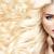 divat · szépség · szőke · lány · nő · portré · fehér - stock fotó © konradbak