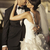 свадьба · пару · поцелуй · другой · сидят · каменные - Сток-фото © konradbak