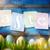 arte · colorato · easter · eggs · verde · erba · verde · primavera - foto d'archivio © Konstanttin