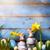 művészet · kellemes · húsvétot · nap · család · húsvéti · nyuszi · húsvéti · tojások - stock fotó © konstanttin