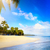strand · hoefijzer · hemel · water · wolken · oceaan - stockfoto © konstanttin