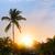 Fiji · pôr · do · sol · coral · costa · popular · turista - foto stock © konstanttin