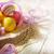 arte · páscoa · primavera · feliz · laranja - foto stock © Konstanttin