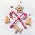 karácsony · csemegék · keret · absztrakt · kekszek · csokoládé - stock fotó © konstanttin