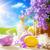 art easter bunny and easter eggs stock photo © konstanttin