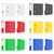 folder colors binder metal rings for office vector illustration stock photo © konturvid