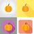autunno · oggetti · caduta · stagionale · set · isolato - foto d'archivio © konturvid