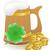 manó · zöld · kalap · izolált · Szent · Patrik · napja · ünnep - stock fotó © konturvid