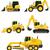 car equipment for construction work vector illustration stock photo © konturvid