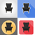 armchair furniture set flat icons vector illustration stock photo © konturvid