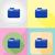 equipamentos · de · informática · ícones · vetor · laptop · mouse - foto stock © konturvid