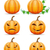 trucco · oggetti · bianco · halloween · isolato - foto d'archivio © konturvid