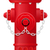 fire hydrant vector illustration stock photo © konturvid