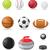 conjunto · branco · ícones · esportes · equipamento · fino - foto stock © konturvid