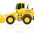bulldozer for road works vector illustration stock photo © konturvid