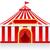 circus · tent · geïsoleerd · frame · kunst · vlag - stockfoto © konturvid