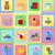 jouets · pour · bébés · icônes · isolé · fille · heureux - photo stock © konturvid