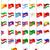 флагами · мира · иллюстрация · различный · текстуры · карта - Сток-фото © konturvid
