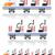 trailers for roller coasters vector illustration stock photo © konturvid