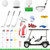 set golf icons vector illustration stock photo © konturvid
