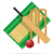 cricket · vettore · abstract · gioco · erba - foto d'archivio © konturvid