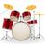 trommel · muziekinstrumenten · voorraad · geïsoleerd · witte · ontwerp - stockfoto © konturvid