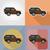 suv · transporte · ícones · isolado · carro · porta - foto stock © konturvid