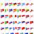 地図 · ヨーロッパの · 国 · 青 · グレー · コミュニティ - ストックフォト © konturvid