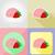 crème · glacée · icônes · isolé · alimentaire · lait · horizons - photo stock © konturvid
