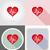 healthy heart symbol flat icons vector illustration stock photo © konturvid