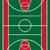 basketbalveld · vector · ontwerp · illustratie · vierkante · lay-out - stockfoto © konturvid