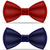 red and blue bow tie for men a suit vector illustration stock photo © konturvid