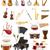 musical instruments set icons stock vector illustration stock photo © konturvid
